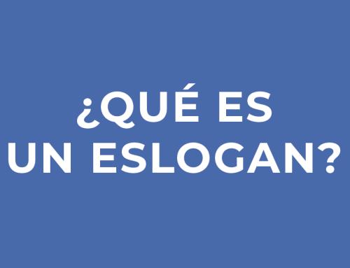 ¿Qué es un eslogan?