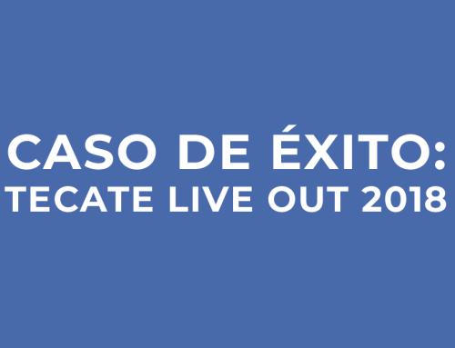 Caso de éxito: TECATE LIVE OUT 2018