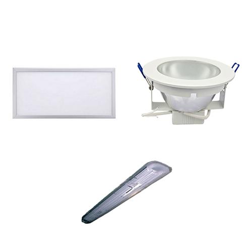 C.- Downlight y Paneles