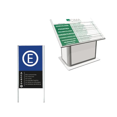 E.- Pedestal